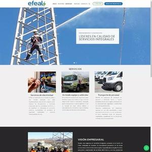 www.efeal.cl Efeal - Servicios Eléctricos  Tipo: Web Catálogo Web App: WordPress Plugins & Tools: UX Builder, Cresta Help Chat  #surempresa #webdesign #websites #webpage #webpagedesign #webdeveloper #websitedevelopment #webdesignagency #website #webdevelopers #webdesigning #wordpress #ecommerce