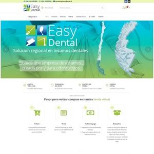 www.easydental.cl Easy Dental - Solución regional en insumos dentales  Tipo: Rediseño Web Web App: PrestaShop Plugins & Tools: Webpay Plus, Elementor Pro  #surempresa #webdesign #websites #webpage #webpagedesign #webdeveloper #websitedevelopment #webdesignagency #website #webdevelopers #webdesigning #prestashop #ecommerce