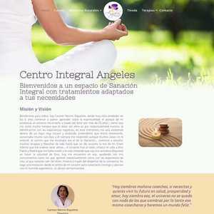 www.centrointegralangeles.cl Centro Integral Ángeles - Medicina complementaria  Tipo: Web Catálogo Web App: WordPress Plugins & Tools: Elementor pro  #surempresa