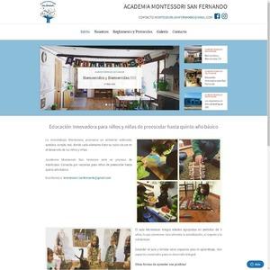 www.montessorisanfernando.cl Academia Montessori San Fernando - Una Educación Innovadora @academiamontessori.sanfernando  Tipo: Web FullPage Web App: WordPress Plugins & Tools: Elementor Pro, Zendesk Chat  #surempresa #webdesign #websites #webpage #webpagedesign #webdeveloper #websitedevelopment #webdesignagency #website #webdevelopers #webdesigning #wordpress