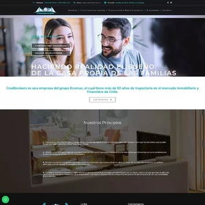 www.credibrokers.cl Credibrokers - Construimos Sonrisas  Tipo: Web MultiPage Web App: WordPress Plugins & Tools: WPBakery Page Builder, Cresta Help Chat  #surempresa #webdesign #websites #webpage #webpagedesign #webdeveloper #websitedevelopment #webdesignagency #website #webdevelopers #webdesigning #wordpress